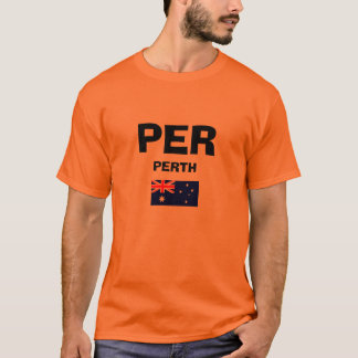 International de Perth POR a camisa do código do