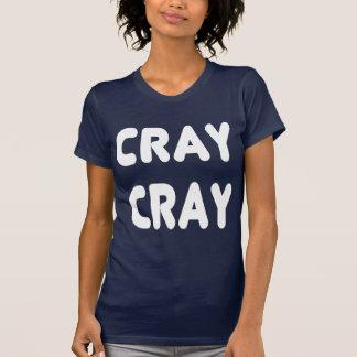Internet branco Memes de Cray Cray Camiseta