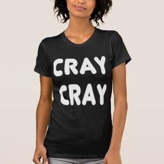 Internet branco Memes de Cray Cray Camisetas