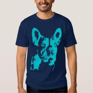 Intimidação azul camisetas