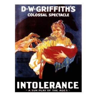 Intolerância (1916) cartão postal
