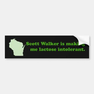 Intolerância do caminhante de Scott Adesivo