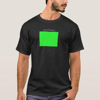 """""""Introduza VFX aqui"""" que edita a camisa do humor"""