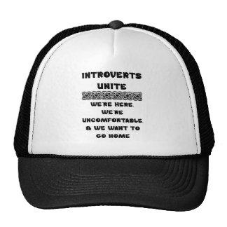 Introverts unem-se boné