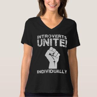 Introverts unem-se! … Individualmente Camiseta