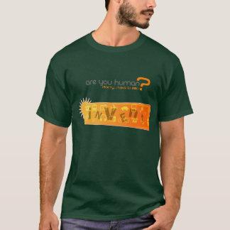 Invente - uma camisa inovativa do captcha
