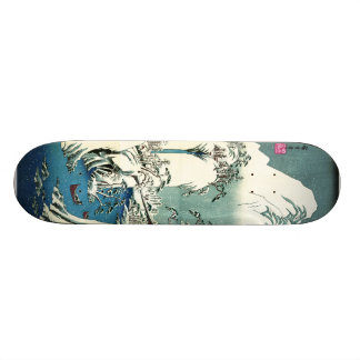 Inverno 1830 do rio de Fuji Skate Personalizado
