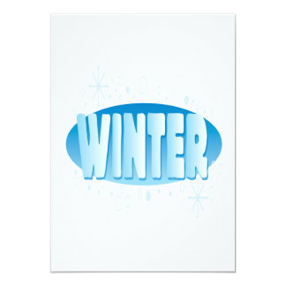 Inverno 4 convites personalizado