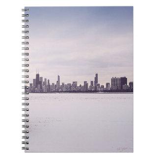 inverno bonito Chicago - caderno