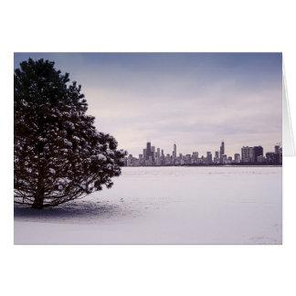 inverno bonito Chicago - cartões
