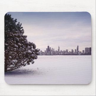 inverno bonito Chicago - mousepads