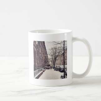 Inverno no lado oeste superior caneca de café