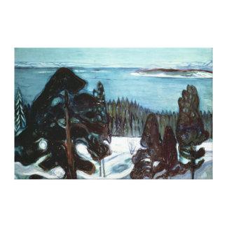 Inverno Noite, 1900