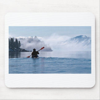 Inverno que Kayaking Mouse Pad
