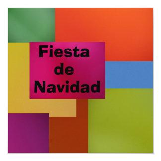 Invitación - Festa de Navidad Convite Quadrado 13.35 X 13.35cm