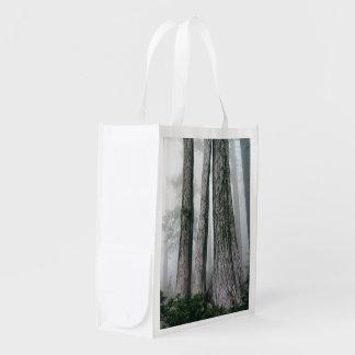 Invocando a floresta sacolas ecológicas