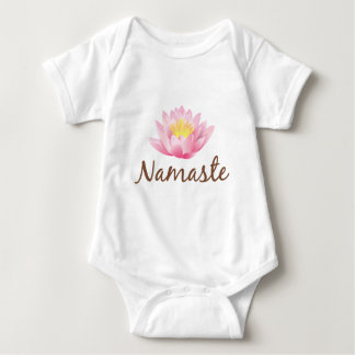 Ioga da flor de Namaste Lotus Body Para Bebê