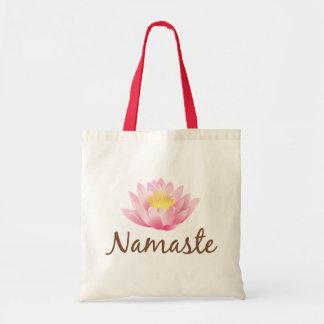 Ioga da flor de Namaste Lotus Bolsa Tote