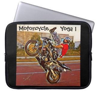 Ioga da motocicleta a 1 bolsa de laptop capas de computadores notebooks