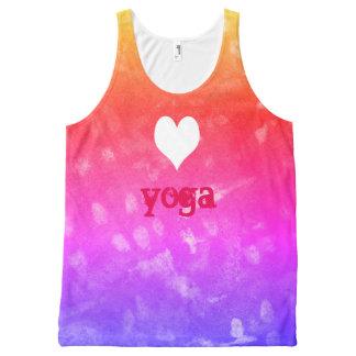 ioga do amor regata com estampa completa
