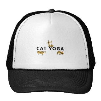ioga do gato boné