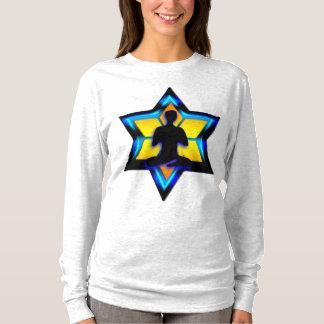 Ioga judaica camiseta