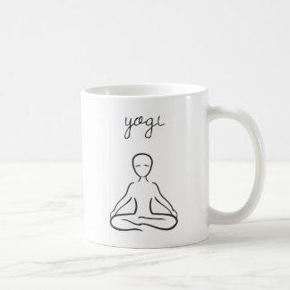 Iogue - caneca de café do amante da ioga ou copo