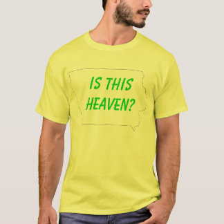 iowa, é este céu? camiseta