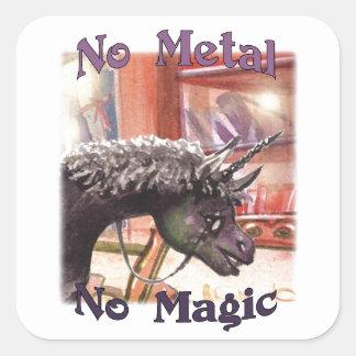 Iown nenhum metal nenhumas etiquetas mágicas