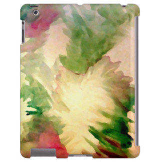 iPad bonito floral dos Pastels da aguarela das Capa Para iPad