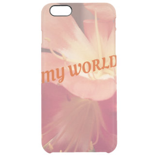 Iphone6 floral mais o caso capa para iPhone 6 plus clear