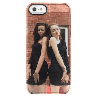 Iphone 5s das meninas de DoubleL+capa de telefone Capa Para iPhone SE/5/5s Clear