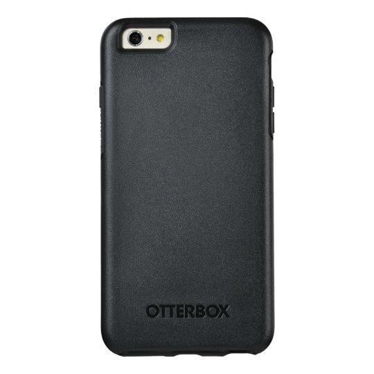 Custom OtterBox iPhone 6 Plus Série Symmetry Case, Preto