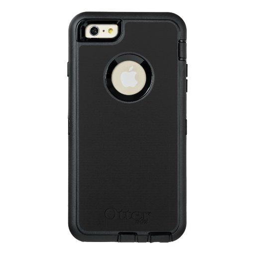 Custom OtterBox iPhone 6 Plus Série Defender Case, Preto