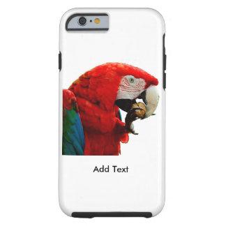 iPhone 6/6s do papagaio do Macaw, capa de telefone