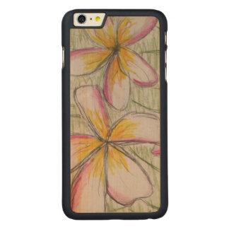 iPhone 6/6s mais o exemplo de madeira do bordo Capa Para iPhone 6 Plus De Carvalho, Carved®