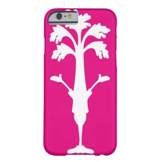 "iPhone 6"" caso do logotipo de Charles do aipo"" Capa Barely There Para iPhone 6"