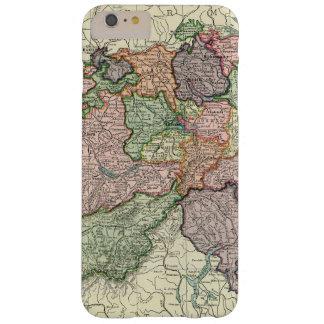 iPhone 6 do mapa da suiça positivo mal lá Capa Barely There Para iPhone 6 Plus