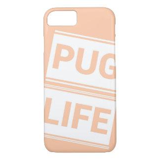 Iphone 7/8 de capa de telefone da VIDA do PUG