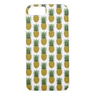 iPhone 7, caso do teste padrão do abacaxi Capa iPhone 7