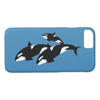 iPhone 7 de Apple das orcas, mal lá capa de