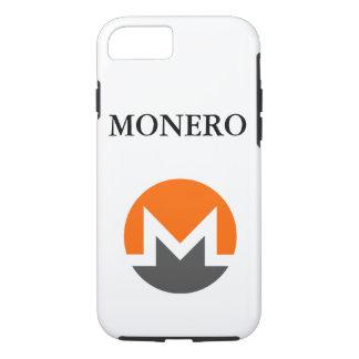 iPhone 7 de Apple do logotipo de Monero, capa de