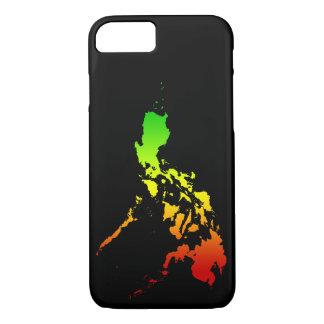 iPhone 7 de Apple do pH, mal lá capa de telefone