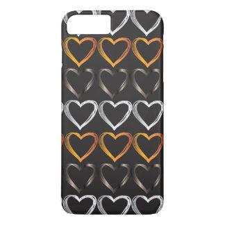 iPhone 7 dos corações positivo, mal lá Capa iPhone 7 Plus