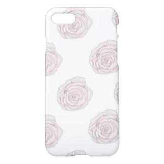 iPhone 7 rosas cor-de-rosa macios do caso Capa iPhone 7