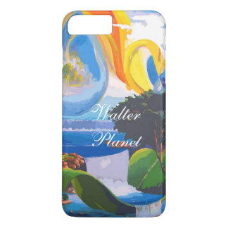 iPhone 7 séries positivas do planeta da Caso-Água Capa iPhone 7 Plus