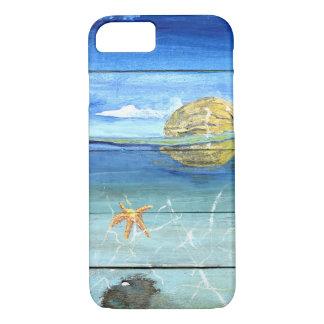 iPhone 8/7 do céu da estrela do mar, mal lá capa