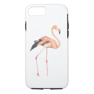 iPhone 8/7 do polígono do flamingo, capa de