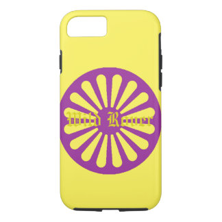 Iphone amarelo Rover selvagem encaixota Capa iPhone 7