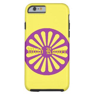 Iphone amarelo Rover selvagem encaixota Capa Tough Para iPhone 6